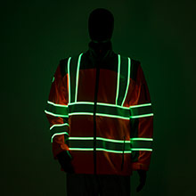 Glowing Safety Apparel